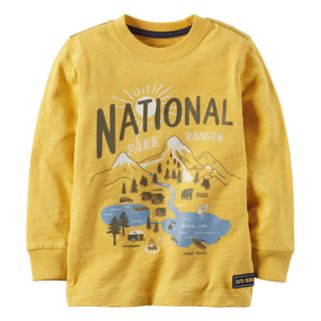 "Baby Boy Carter's ""National Park Ranger"" Applique Graphic Tee"