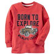 Baby Boy Carter's 'Born To Explore Wildlife Expert' Graphic Tee