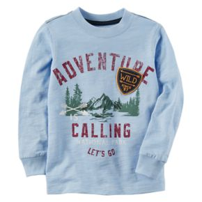 "Baby Boy Carter's ""Adventure Calling"" Graphic Tee"