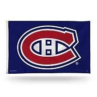 Montreal Canadiens Blue Banner Flag