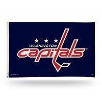 Washington Capitals Red Banner Flag
