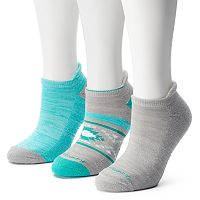 Women's Free Country 3-pk. Tribal No-Show Socks