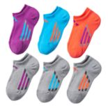 Girls adidas climalite 6-pk. Cushion No-Show Socks