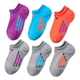 Girls adidas climalite 6-pk. Cushion No-Show Socks
