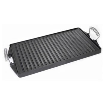 Country Cabin Pre-Seasoned Cast-Iron  Reversible Griddle & Grill