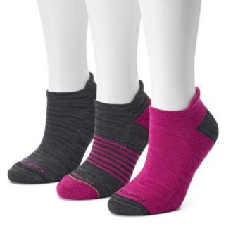 Women's Free Country 3-pk. No-Show Socks