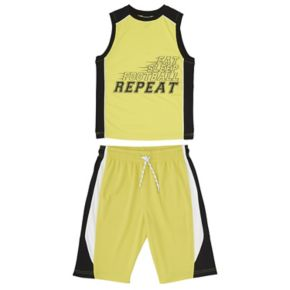 Boys 8-20 French Toast Tank & Shorts 2-Piece Active Set