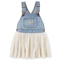 Toddler Girl OshKosh B'gosh® Denim Glitter Jumper