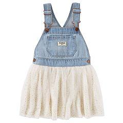 Toddler Girl OshKosh B'gosh® Denim Glitter Jumper