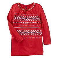 Toddler Girl OshKosh B'gosh® Printed Tunic Top