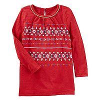 Toddler Girl OshKosh B'gosh® Printed Tunic Top
