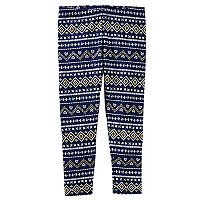 Toddler Girl OshKosh B'gosh® Fairisle Leggings