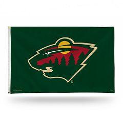 Minnesota Wild Green Banner Flag