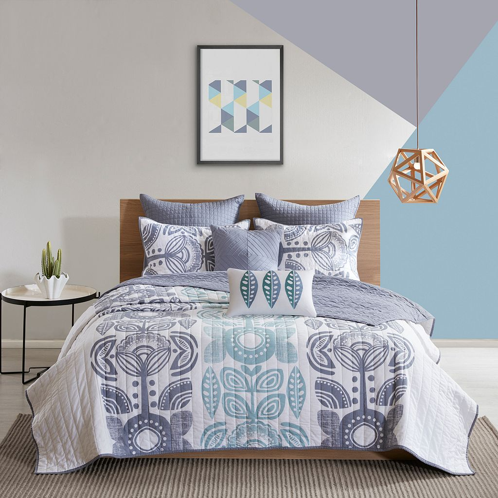 Urban Habitat 7-piece Teo Coverlet Set