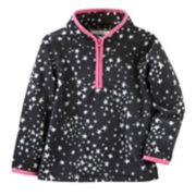 Toddler Girl OshKosh B'gosh® Star Printed 1/2-Zip Fleece Pullover