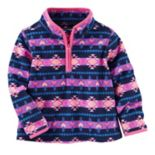Toddler Girl OshKosh B'gosh® Tribal Printed Microfleece Jacket
