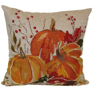 Celebrate Fall Together Pumpkins Throw Pillow
