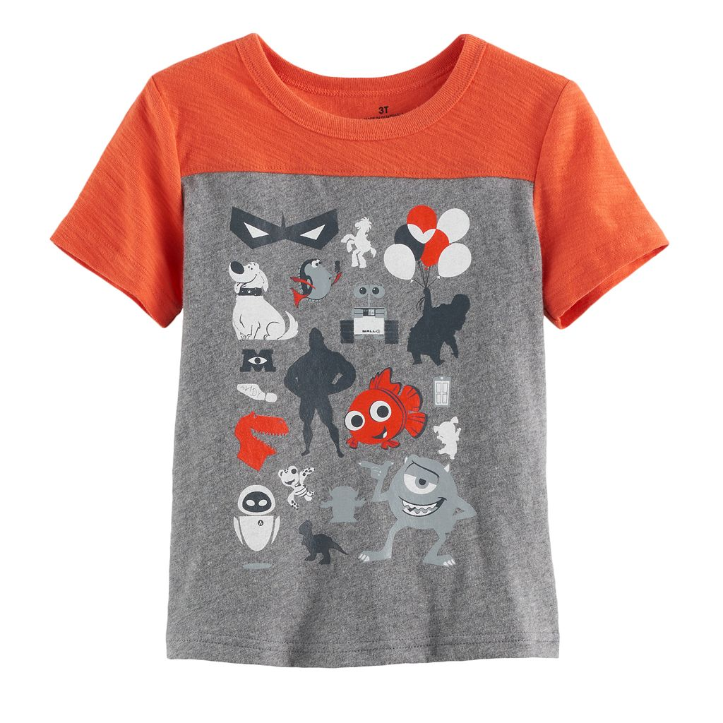Disney / Pixar Characters Toddler Boy Seamed Graphic Tee by Jumping Beans®