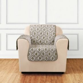 Sure Fit Furniture Flair Ogee Chair Slipcover