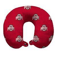Ohio State Buckeyes Travel Pillow