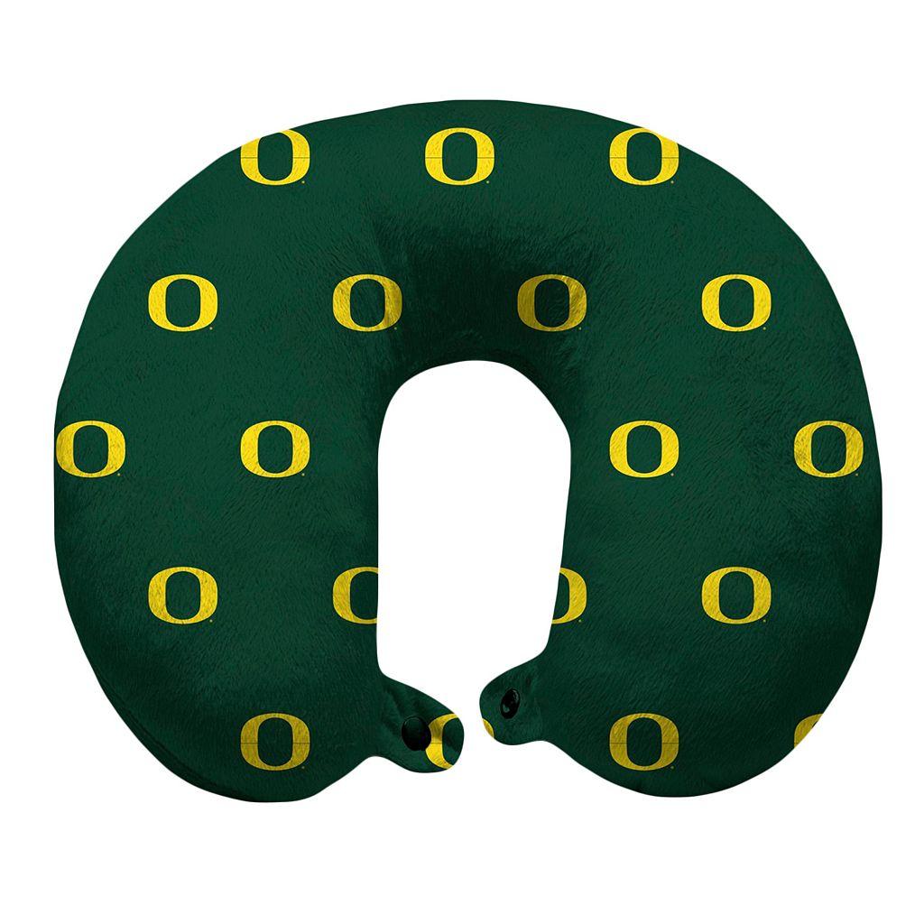 Oregon Ducks Travel Pillow