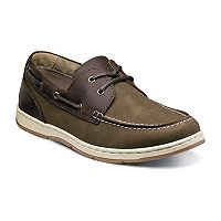 Nunn Bush Schooner Men's Moc Toe Casual Boat Shoes