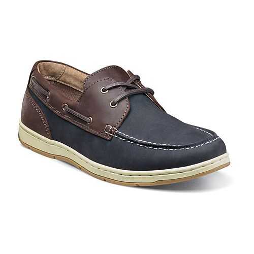 Nunn Bush Schooner Men's Moc Toe Casual Boat Shoes