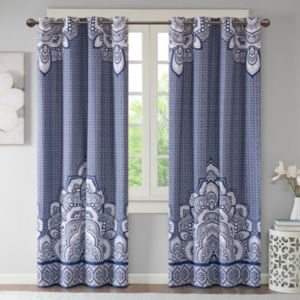 Intelligent Design Simone Printed Blackout Curtain