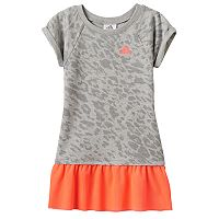 Toddler Girl adidas Cheetah Mesh Dress