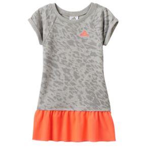 Toddler Girl adidas Cheetah Mesh Dress