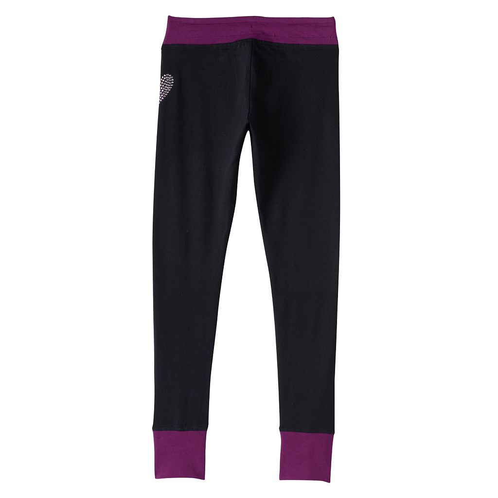 Girls 7-16 & Plus Size SO® Contrast Cuff Leggings