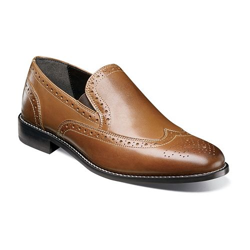 Nunn Bush Norris Men's Leather Wingtip Shoes