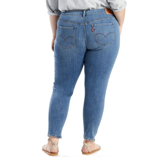 Plus Size Levi's® 711 Skinny Ankle Jeans