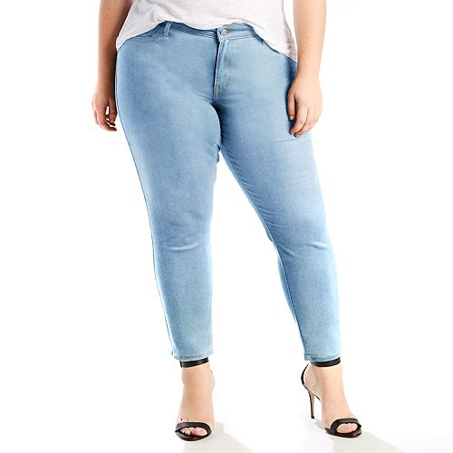 769f3409ba5 Plus Size Levi s® 711 Skinny Ankle Jeans