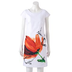 Women's DR by Donna Ricco Floral Sheath Dress