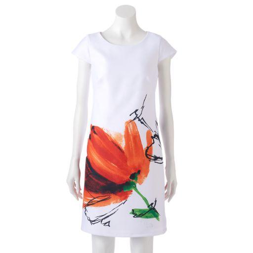 Women's DR by Donna Ricco Floral Sheath Dress