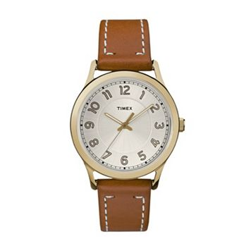 Timex Women's New England Leather Watch - TW2R23000JT