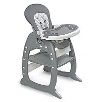 Badger Basket Envee II Convertible High Chair & Play Table