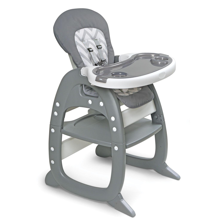 Badger Basket Envee II Convertible High Chair U0026 Play Table