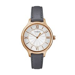 Timex Women's Peyton Leather Watch - TW2R27700JT