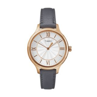 Timex Women's Peyton Leather Watch - TW2R27700JT