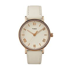 Timex Women's Southview Leather Watch - TW2R28300JT