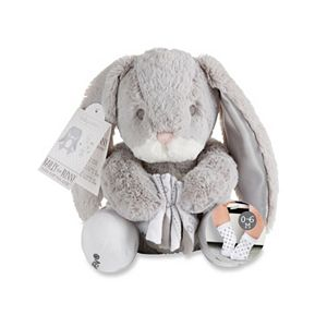 Baby Boy Baby Aspen Bailey the Bunny Plush Toy & Socks Set