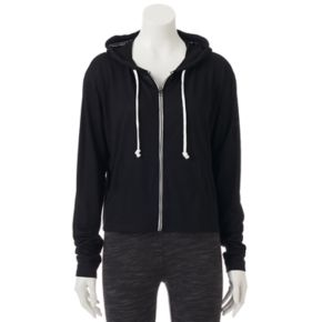 Juniors' SO® Perfectly Soft Zip Up Hoodie