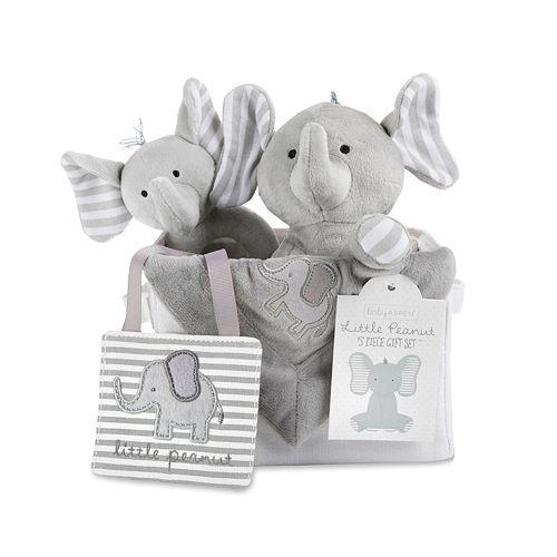 Baby Aspen Little Peanut Elephant Gift Set