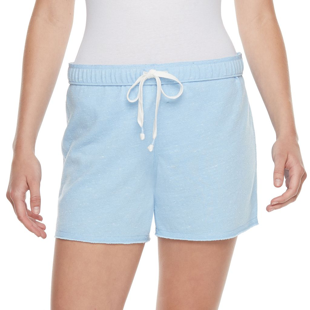 Juniors' SO® Fold-Over Midi Shorts