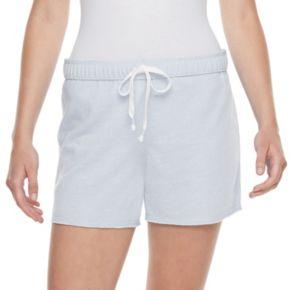Juniors' SO® Fold-Over Midi Shorts