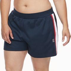 Plus Size FILA SPORT® Heritage Track Shorts