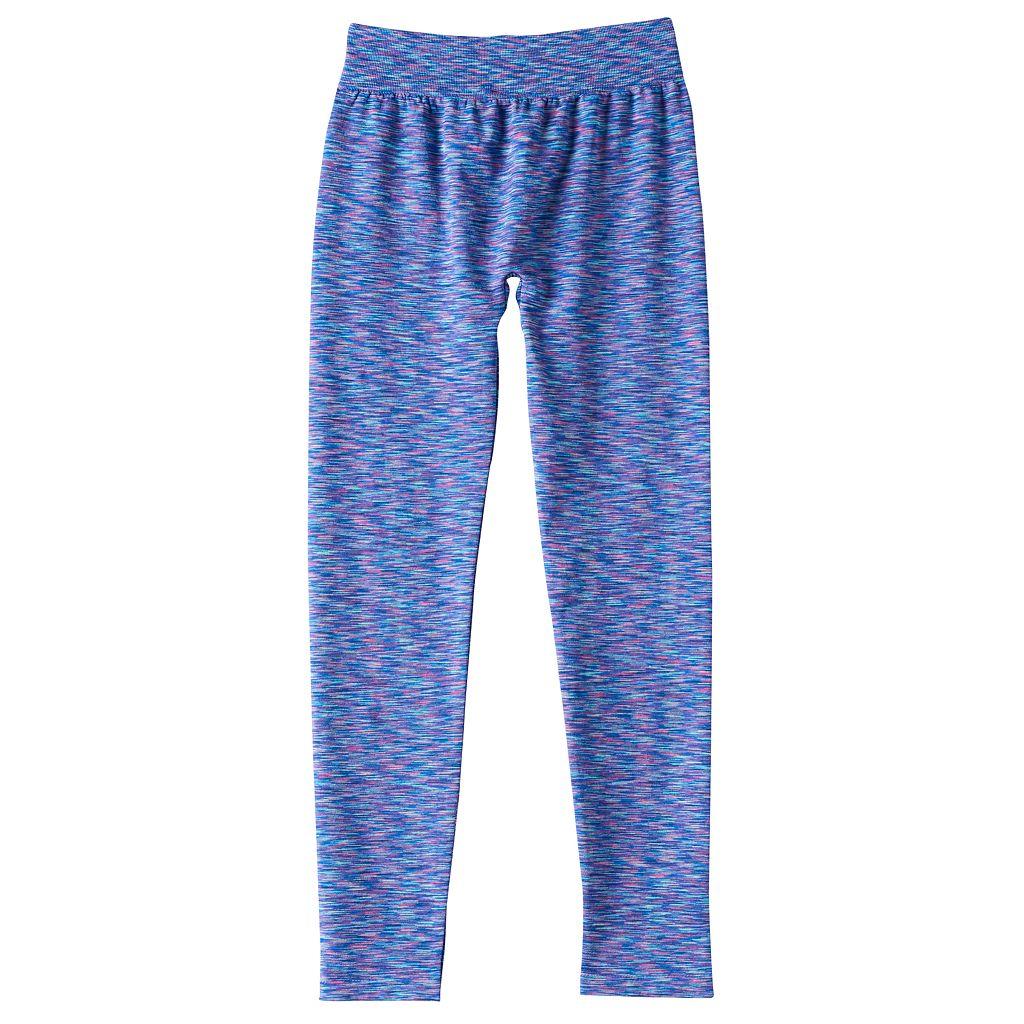 Girls 7-16 SO® Space-Dyed Seamless Leggings