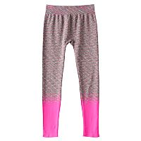 Girls 7-16 SO® Space-Dyed Seamless Leggings